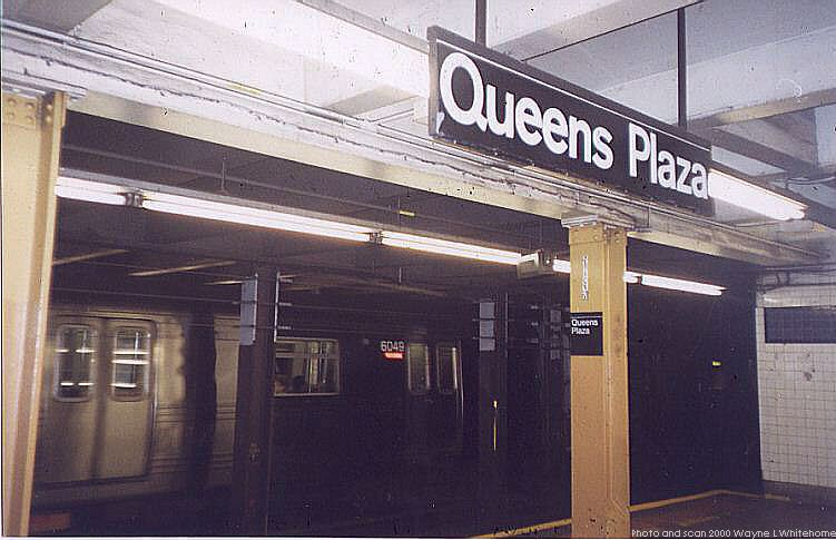 (65k, 751x485)<br><b>Country:</b> United States<br><b>City:</b> New York<br><b>System:</b> New York City Transit<br><b>Line:</b> IND Queens Boulevard Line<br><b>Location:</b> Queens Plaza <br><b>Photo by:</b> Wayne Whitehorne<br><b>Date:</b> 12/11/1999<br><b>Viewed (this week/total):</b> 2 / 3670