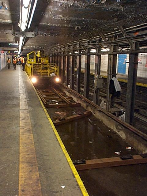 (58k, 480x640)<br><b>Country:</b> United States<br><b>City:</b> New York<br><b>System:</b> New York City Transit<br><b>Line:</b> BMT Broadway Line<br><b>Location:</b> Canal Street Bridge Line <br><b>Photo by:</b> Richard Brome<br><b>Viewed (this week/total):</b> 12 / 5558