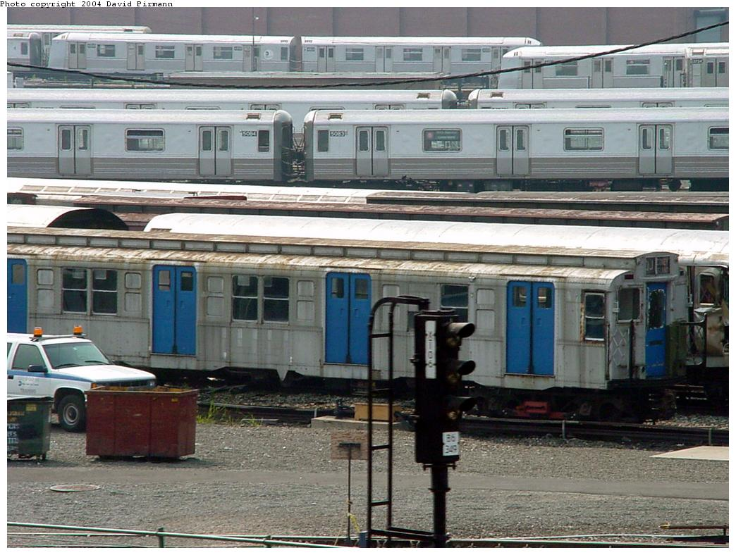 (156k, 1044x788)<br><b>Country:</b> United States<br><b>City:</b> New York<br><b>System:</b> New York City Transit<br><b>Location:</b> Coney Island Yard-Museum Yard<br><b>Car:</b> R-4 (American Car & Foundry, 1932-1933) 491 (ex-401)<br><b>Photo by:</b> David Pirmann<br><b>Date:</b> 8/27/2000<br><b>Viewed (this week/total):</b> 1 / 3633