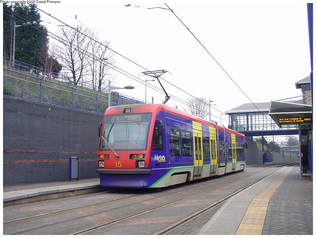 (194k, 1044x788)<br><b>Country:</b> United Kingdom<br><b>City:</b> Birmingham <br><b>System:</b> Midland Metro<br><b>Location:</b> The Hawthorns <br><b>Car:</b>  15 <br><b>Photo by:</b> David Pirmann<br><b>Date:</b> 3/29/2001<br><b>Viewed (this week/total):</b> 3 / 1065