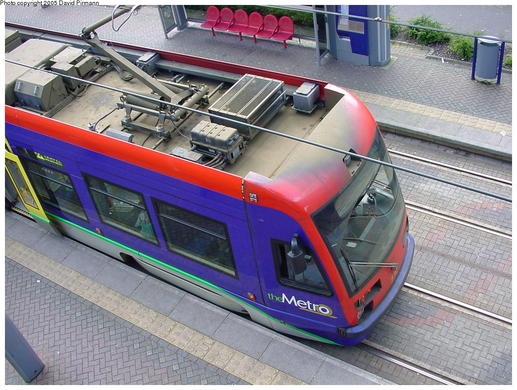 (250k, 1044x788)<br><b>Country:</b> United Kingdom<br><b>City:</b> Birmingham <br><b>System:</b> Midland Metro<br><b>Location:</b> Lodge Road/West Bromwich Town Hall <br><b>Car:</b>  15 <br><b>Photo by:</b> David Pirmann<br><b>Date:</b> 3/29/2001<br><b>Viewed (this week/total):</b> 2 / 1384