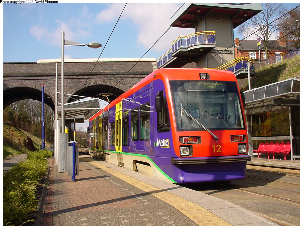 (235k, 1044x788)<br><b>Country:</b> United Kingdom<br><b>City:</b> Birmingham <br><b>System:</b> Midland Metro<br><b>Location:</b> Lodge Road/West Bromwich Town Hall <br><b>Car:</b>  12 <br><b>Photo by:</b> David Pirmann<br><b>Date:</b> 3/29/2001<br><b>Viewed (this week/total):</b> 3 / 1627