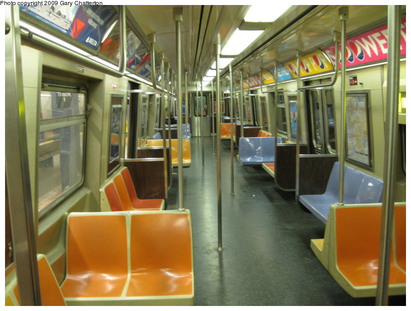 (135k, 820x620)<br><b>Country:</b> United States<br><b>City:</b> New York<br><b>System:</b> New York City Transit<br><b>Car:</b> R-46 (Pullman-Standard, 1974-75) 5911 <br><b>Photo by:</b> Gary Chatterton<br><b>Date:</b> 4/5/2009<br><b>Viewed (this week/total):</b> 4 / 2220