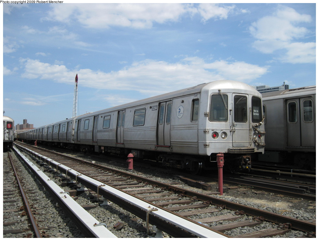 (215k, 1044x788)<br><b>Country:</b> United States<br><b>City:</b> New York<br><b>System:</b> New York City Transit<br><b>Location:</b> 207th Street Yard<br><b>Car:</b> R-44 (St. Louis, 1971-73) 5284 <br><b>Photo by:</b> Robert Mencher<br><b>Date:</b> 4/18/2009<br><b>Viewed (this week/total):</b> 0 / 352