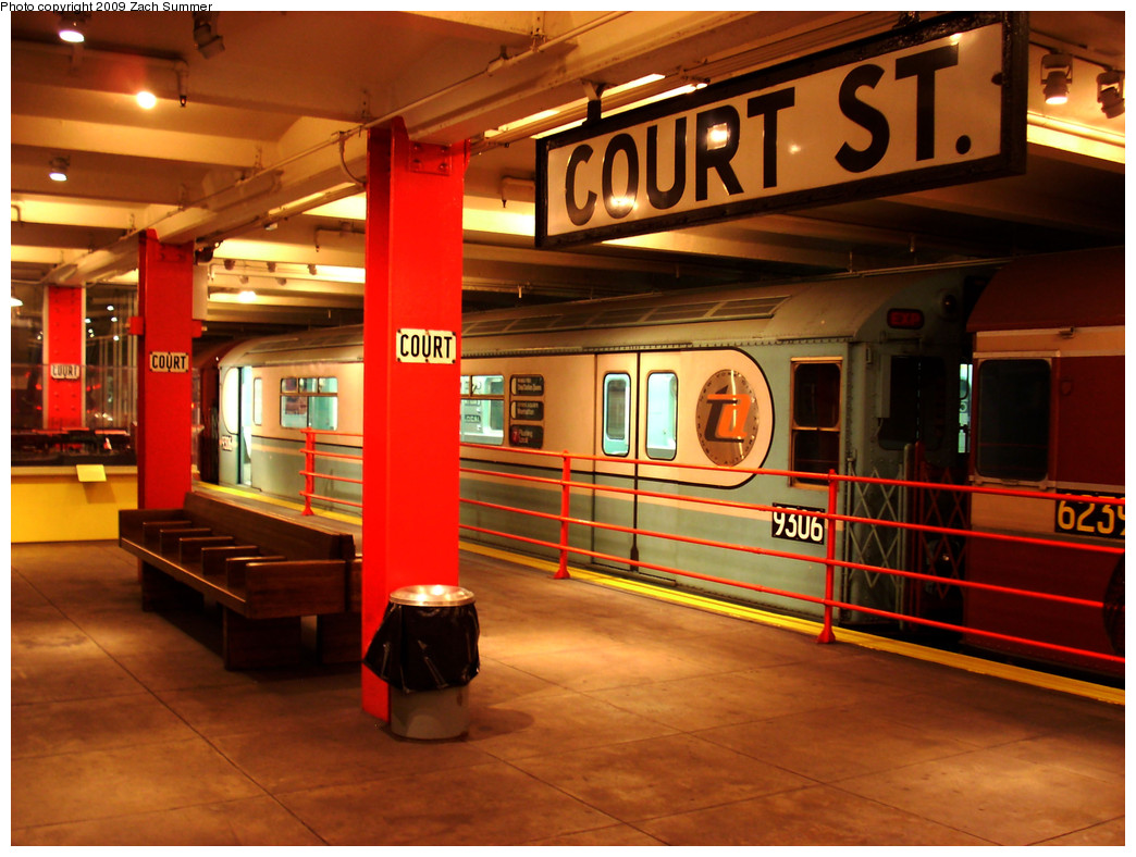 (287k, 1044x788)<br><b>Country:</b> United States<br><b>City:</b> New York<br><b>System:</b> New York City Transit<br><b>Location:</b> New York Transit Museum<br><b>Car:</b> R-33 World's Fair (St. Louis, 1963-64) 9306 <br><b>Photo by:</b> Zach Summer<br><b>Date:</b> 7/22/2008<br><b>Viewed (this week/total):</b> 2 / 1285