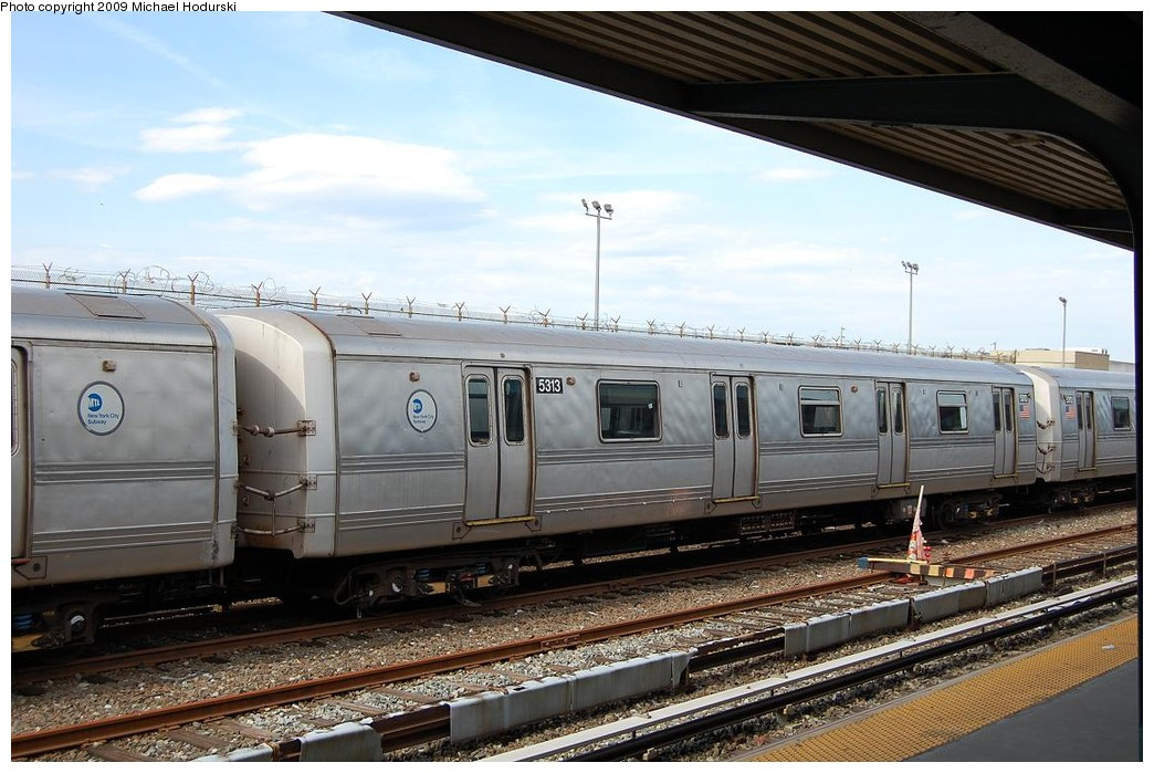 (231k, 1044x699)<br><b>Country:</b> United States<br><b>City:</b> New York<br><b>System:</b> New York City Transit<br><b>Location:</b> Rockaway Park Yard<br><b>Car:</b> R-44 (St. Louis, 1971-73) 5313 <br><b>Photo by:</b> Michael Hodurski<br><b>Date:</b> 4/17/2008<br><b>Viewed (this week/total):</b> 4 / 670