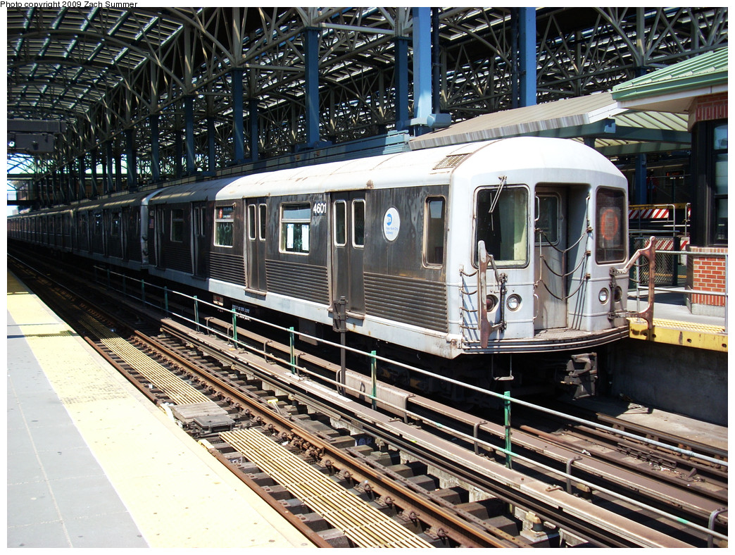 (400k, 1044x788)<br><b>Country:</b> United States<br><b>City:</b> New York<br><b>System:</b> New York City Transit<br><b>Location:</b> Coney Island/Stillwell Avenue<br><b>Route:</b> F<br><b>Car:</b> R-42 (St. Louis, 1969-1970)  4601 <br><b>Photo by:</b> Zach Summer<br><b>Date:</b> 5/31/2009<br><b>Viewed (this week/total):</b> 0 / 917