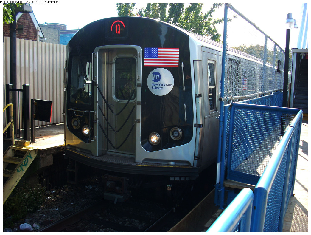 (299k, 1044x788)<br><b>Country:</b> United States<br><b>City:</b> New York<br><b>System:</b> New York City Transit<br><b>Line:</b> BMT Brighton Line<br><b>Location:</b> Avenue J <br><b>Route:</b> Q<br><b>Car:</b> R-160B (Kawasaki, 2005-2008)  8797 <br><b>Photo by:</b> Zach Summer<br><b>Date:</b> 10/22/2009<br><b>Viewed (this week/total):</b> 2 / 470