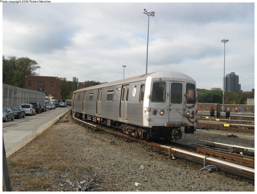 (230k, 1044x788)<br><b>Country:</b> United States<br><b>City:</b> New York<br><b>System:</b> New York City Transit<br><b>Location:</b> Jamaica Yard/Shops<br><b>Car:</b> R-46 (Pullman-Standard, 1974-75) 6106 <br><b>Photo by:</b> Robert Mencher<br><b>Date:</b> 11/3/2009<br><b>Viewed (this week/total):</b> 4 / 546