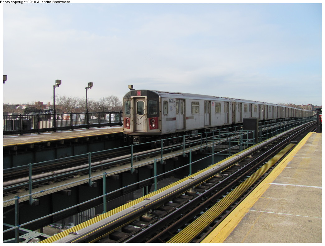 (204k, 1044x788)<br><b>Country:</b> United States<br><b>City:</b> New York<br><b>System:</b> New York City Transit<br><b>Line:</b> IRT Brooklyn Line<br><b>Location:</b> Van Siclen Avenue <br><b>Route:</b> 4<br><b>Car:</b> R-142 (Option Order, Bombardier, 2002-2003)  7081 <br><b>Photo by:</b> Aliandro Brathwaite<br><b>Date:</b> 1/2/2010<br><b>Viewed (this week/total):</b> 0 / 1159