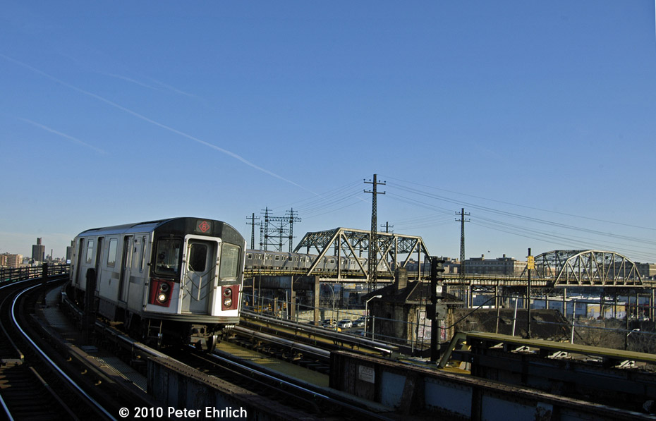 (141k, 930x597)<br><b>Country:</b> United States<br><b>City:</b> New York<br><b>System:</b> New York City Transit<br><b>Line:</b> IRT Pelham Line<br><b>Location:</b> Whitlock Avenue <br><b>Route:</b> 6<br><b>Car:</b> R-142A (Primary Order, Kawasaki, 1999-2002)  7561 <br><b>Photo by:</b> Peter Ehrlich<br><b>Date:</b> 1/6/2010<br><b>Notes:</b> Inbound<br><b>Viewed (this week/total):</b> 1 / 835