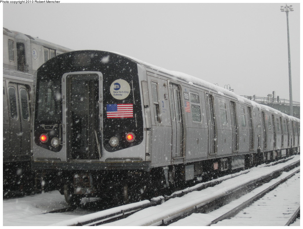 (201k, 1044x788)<br><b>Country:</b> United States<br><b>City:</b> New York<br><b>System:</b> New York City Transit<br><b>Location:</b> East New York Yard/Shops<br><b>Car:</b> R-143 (Kawasaki, 2001-2002) 8109 <br><b>Photo by:</b> Robert Mencher<br><b>Date:</b> 2/16/2010<br><b>Viewed (this week/total):</b> 1 / 473