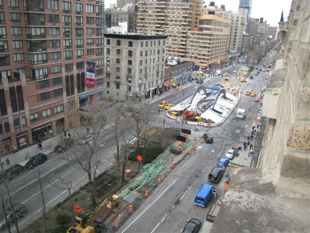 (82k, 640x480)<br><b>Country:</b> United States<br><b>City:</b> New York<br><b>System:</b> New York City Transit<br><b>Line:</b> IRT West Side Line<br><b>Location:</b> 96th Street <br><b>Photo by:</b> David Blair<br><b>Date:</b> 4/15/2009<br><b>Notes:</b> Station renovation.<br><b>Viewed (this week/total):</b> 2 / 1013