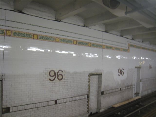 (35k, 640x480)<br><b>Country:</b> United States<br><b>City:</b> New York<br><b>System:</b> New York City Transit<br><b>Line:</b> IRT West Side Line<br><b>Location:</b> 96th Street <br><b>Photo by:</b> David Blair<br><b>Date:</b> 2/21/2010<br><b>Notes:</b> Station renovation.<br><b>Viewed (this week/total):</b> 0 / 350