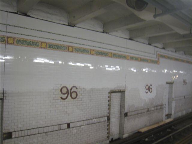 (35k, 640x480)<br><b>Country:</b> United States<br><b>City:</b> New York<br><b>System:</b> New York City Transit<br><b>Line:</b> IRT West Side Line<br><b>Location:</b> 96th Street <br><b>Photo by:</b> David Blair<br><b>Date:</b> 2/21/2010<br><b>Notes:</b> Station renovation.<br><b>Viewed (this week/total):</b> 2 / 649
