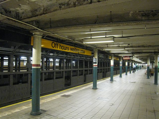 (61k, 640x480)<br><b>Country:</b> United States<br><b>City:</b> New York<br><b>System:</b> New York City Transit<br><b>Line:</b> IRT East Side Line<br><b>Location:</b> Astor Place <br><b>Photo by:</b> David Blair<br><b>Date:</b> 4/24/2007<br><b>Notes:</b> Downtown side.<br><b>Viewed (this week/total):</b> 0 / 513