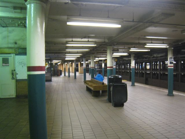 (45k, 640x480)<br><b>Country:</b> United States<br><b>City:</b> New York<br><b>System:</b> New York City Transit<br><b>Line:</b> IRT East Side Line<br><b>Location:</b> Astor Place <br><b>Photo by:</b> David Blair<br><b>Date:</b> 2/21/2010<br><b>Notes:</b> Downtown side.<br><b>Viewed (this week/total):</b> 0 / 978