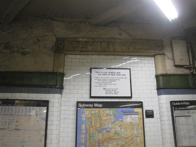 (46k, 640x480)<br><b>Country:</b> United States<br><b>City:</b> New York<br><b>System:</b> New York City Transit<br><b>Line:</b> IRT East Side Line<br><b>Location:</b> Astor Place <br><b>Photo by:</b> David Blair<br><b>Date:</b> 2/21/2010<br><b>Notes:</b> Downtown side.<br><b>Viewed (this week/total):</b> 0 / 650
