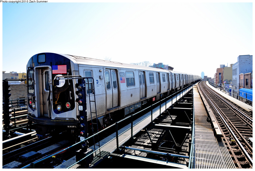 (285k, 1044x700)<br><b>Country:</b> United States<br><b>City:</b> New York<br><b>System:</b> New York City Transit<br><b>Line:</b> BMT Astoria Line<br><b>Location:</b> Astoria Boulevard/Hoyt Avenue <br><b>Route:</b> Layup<br><b>Car:</b> R-160B (Option 1) (Kawasaki, 2008-2009)  9082 <br><b>Photo by:</b> Zach Summer<br><b>Date:</b> 3/7/2010<br><b>Viewed (this week/total):</b> 0 / 946