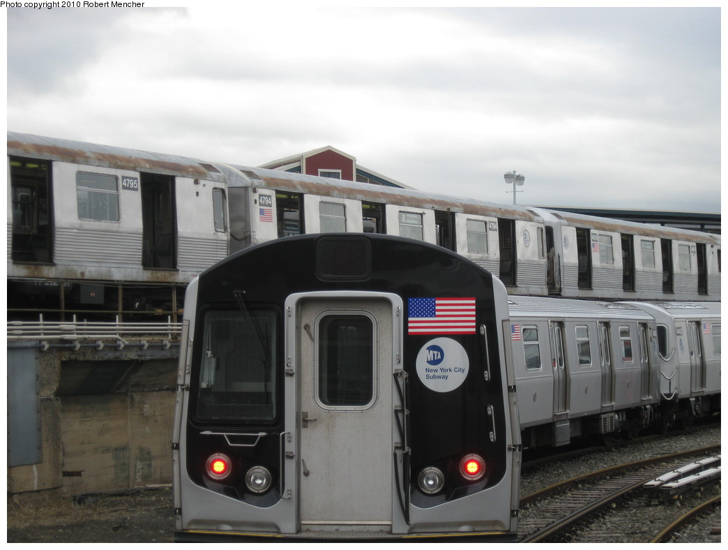 (163k, 1044x788)<br><b>Country:</b> United States<br><b>City:</b> New York<br><b>System:</b> New York City Transit<br><b>Location:</b> East New York Yard/Shops<br><b>Car:</b> R-42 (St. Louis, 1969-1970)  4794 <br><b>Photo by:</b> Robert Mencher<br><b>Date:</b> 3/31/2010<br><b>Viewed (this week/total):</b> 0 / 409