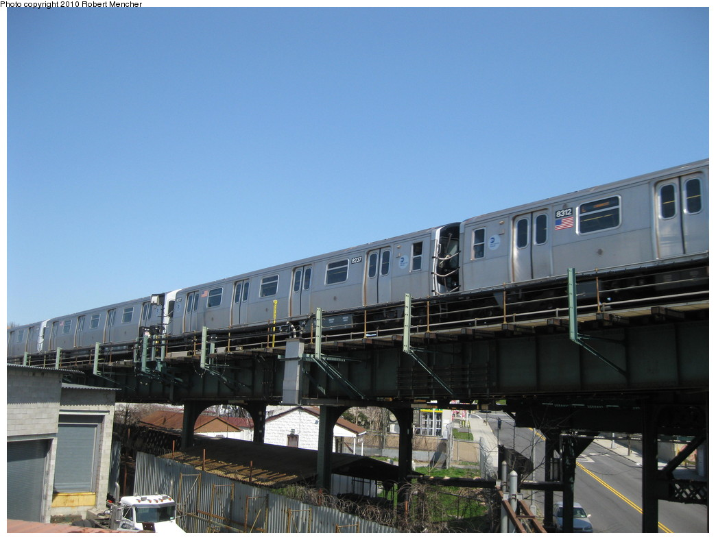 (187k, 1044x788)<br><b>Country:</b> United States<br><b>City:</b> New York<br><b>System:</b> New York City Transit<br><b>Line:</b> BMT Canarsie Line<br><b>Location:</b> Broadway Junction <br><b>Route:</b> L<br><b>Car:</b> R-143 (Kawasaki, 2001-2002) 8237 <br><b>Photo by:</b> Robert Mencher<br><b>Date:</b> 4/4/2010<br><b>Viewed (this week/total):</b> 2 / 482