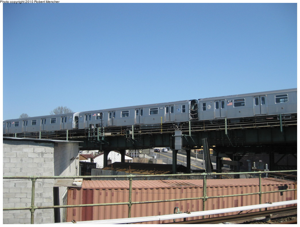(185k, 1044x788)<br><b>Country:</b> United States<br><b>City:</b> New York<br><b>System:</b> New York City Transit<br><b>Line:</b> BMT Canarsie Line<br><b>Location:</b> Broadway Junction <br><b>Route:</b> L<br><b>Car:</b> R-143 (Kawasaki, 2001-2002) 8196 <br><b>Photo by:</b> Robert Mencher<br><b>Date:</b> 4/4/2010<br><b>Viewed (this week/total):</b> 0 / 634