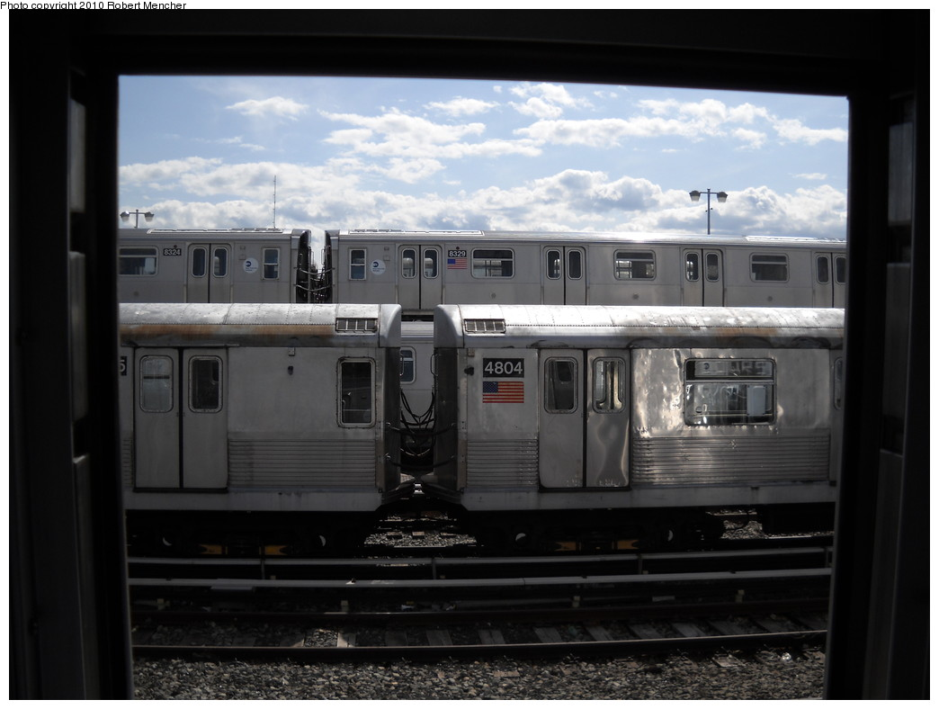 (189k, 1044x788)<br><b>Country:</b> United States<br><b>City:</b> New York<br><b>System:</b> New York City Transit<br><b>Location:</b> East New York Yard/Shops<br><b>Car:</b> R-42 (St. Louis, 1969-1970)  4804 <br><b>Photo by:</b> Robert Mencher<br><b>Date:</b> 4/20/2010<br><b>Viewed (this week/total):</b> 2 / 373