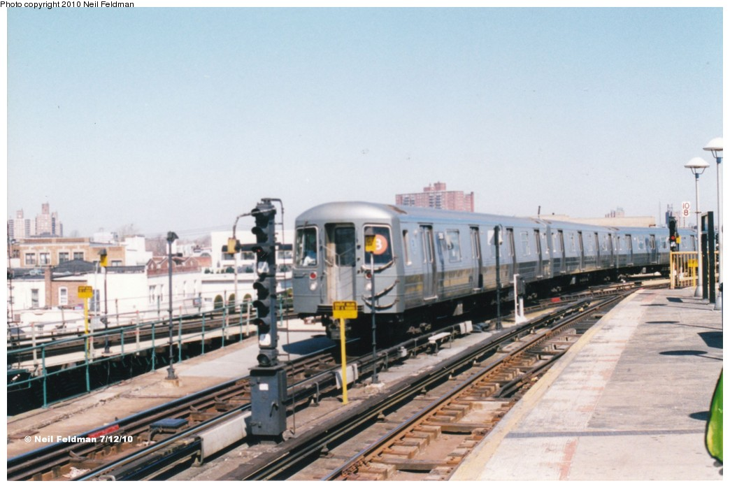 (160k, 1044x698)<br><b>Country:</b> United States<br><b>City:</b> New York<br><b>System:</b> New York City Transit<br><b>Location:</b> Coney Island/Stillwell Avenue<br><b>Route:</b> B<br><b>Car:</b> R-68A (Kawasaki, 1988-1989)  5186 <br><b>Photo by:</b> Neil Feldman<br><b>Date:</b> 1999<br><b>Viewed (this week/total):</b> 1 / 622