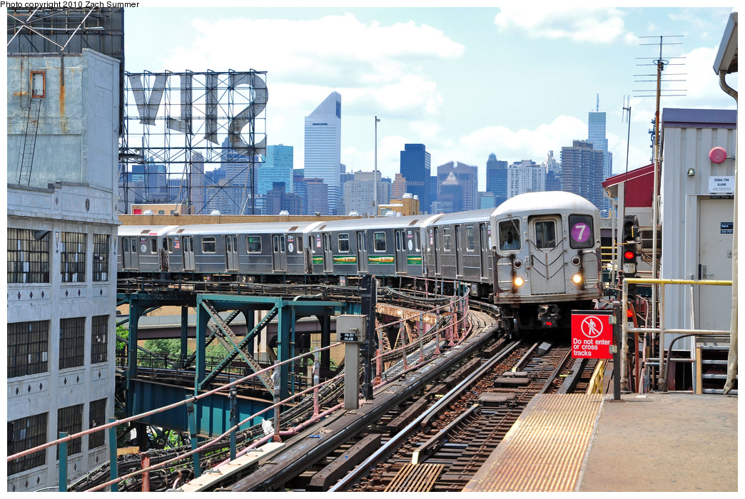 (347k, 1044x700)<br><b>Country:</b> United States<br><b>City:</b> New York<br><b>System:</b> New York City Transit<br><b>Line:</b> IRT Flushing Line<br><b>Location:</b> Queensborough Plaza <br><b>Route:</b> 7<br><b>Car:</b> R-62A (Bombardier, 1984-1987)  2044 <br><b>Photo by:</b> Zach Summer<br><b>Date:</b> 6/25/2010<br><b>Viewed (this week/total):</b> 1 / 1158