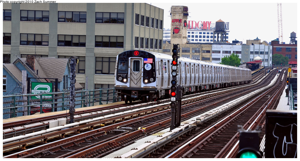 (286k, 1044x562)<br><b>Country:</b> United States<br><b>City:</b> New York<br><b>System:</b> New York City Transit<br><b>Line:</b> BMT Astoria Line<br><b>Location:</b> 36th/Washington Aves. <br><b>Route:</b> W<br><b>Car:</b> R-160A-2 (Alstom, 2005-2008, 5 car sets)  8703 <br><b>Photo by:</b> Zach Summer<br><b>Date:</b> 6/25/2010<br><b>Notes:</b> Last Day of W Service<br><b>Viewed (this week/total):</b> 0 / 636