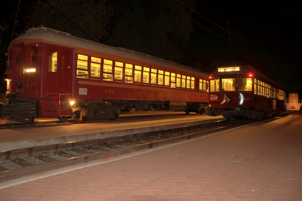 (152k, 1024x682)<br><b>Country:</b> United States<br><b>City:</b> Perris, CA<br><b>System:</b> Orange Empire Railway Museum <br><b>Car:</b>  418 <br><b>Photo by:</b> Jeremy Whiteman<br><b>Date:</b> 8/1/2010<br><b>Viewed (this week/total):</b> 3 / 603