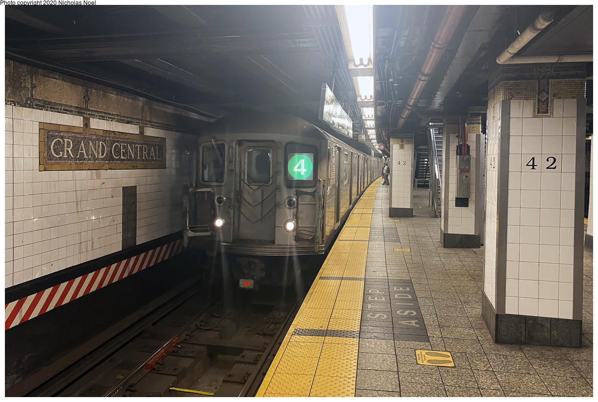 (192k, 1024x675)<br><b>Country:</b> United States<br><b>City:</b> New York<br><b>System:</b> New York City Transit<br><b>Line:</b> BMT Canarsie Line<br><b>Location:</b> East 105th Street (Grade Crossing) <br><b>Car:</b> BMT A/B-Type Standard  <br><b>Collection of:</b> George Conrad Collection<br><b>Date:</b> 7/4/1966<br><b>Viewed (this week/total):</b> 0 / 1021