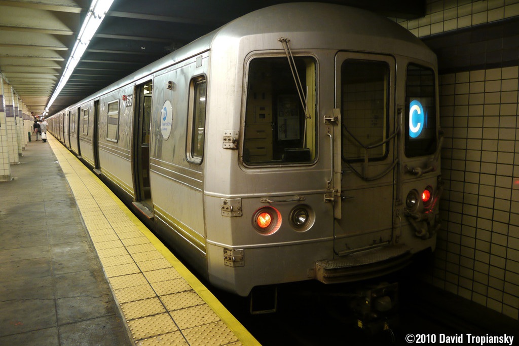 (226k, 1024x682)<br><b>Country:</b> United States<br><b>City:</b> New York<br><b>System:</b> New York City Transit<br><b>Line:</b> IND Fulton Street Line<br><b>Location:</b> Euclid Avenue <br><b>Route:</b> C<br><b>Car:</b> R-44 (St. Louis, 1971-73) 5316 <br><b>Photo by:</b> David Tropiansky<br><b>Date:</b> 7/16/2010<br><b>Viewed (this week/total):</b> 3 / 706
