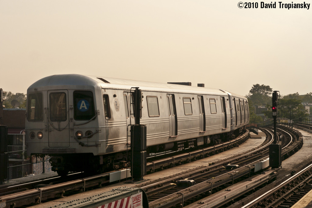(197k, 1024x683)<br><b>Country:</b> United States<br><b>City:</b> New York<br><b>System:</b> New York City Transit<br><b>Line:</b> IND Fulton Street Line<br><b>Location:</b> 80th Street/Hudson Street <br><b>Route:</b> A<br><b>Car:</b> R-46 (Pullman-Standard, 1974-75) 6038 <br><b>Photo by:</b> David Tropiansky<br><b>Date:</b> 7/16/2010<br><b>Viewed (this week/total):</b> 3 / 435