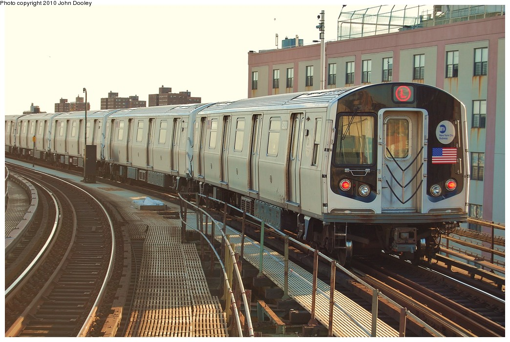 (263k, 1044x701)<br><b>Country:</b> United States<br><b>City:</b> New York<br><b>System:</b> New York City Transit<br><b>Line:</b> BMT Canarsie Line<br><b>Location:</b> Atlantic Avenue <br><b>Route:</b> L<br><b>Car:</b> R-143 (Kawasaki, 2001-2002) 8200 <br><b>Photo by:</b> John Dooley<br><b>Date:</b> 10/28/2010<br><b>Viewed (this week/total):</b> 2 / 867