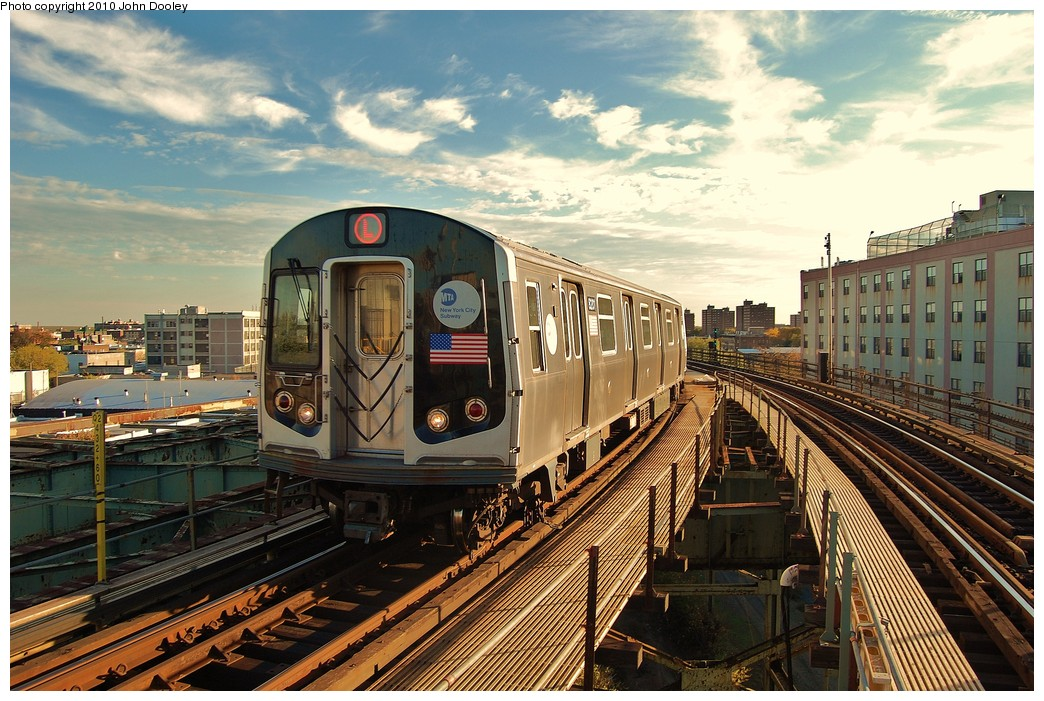 (288k, 1044x701)<br><b>Country:</b> United States<br><b>City:</b> New York<br><b>System:</b> New York City Transit<br><b>Line:</b> BMT Canarsie Line<br><b>Location:</b> Atlantic Avenue <br><b>Route:</b> L<br><b>Car:</b> R-143 (Kawasaki, 2001-2002) 8201 <br><b>Photo by:</b> John Dooley<br><b>Date:</b> 10/28/2010<br><b>Viewed (this week/total):</b> 3 / 1546