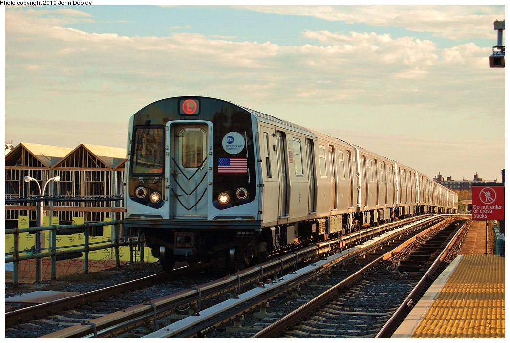 (257k, 1044x701)<br><b>Country:</b> United States<br><b>City:</b> New York<br><b>System:</b> New York City Transit<br><b>Line:</b> BMT Canarsie Line<br><b>Location:</b> Atlantic Avenue <br><b>Route:</b> L<br><b>Car:</b> R-143 (Kawasaki, 2001-2002) 8212 <br><b>Photo by:</b> John Dooley<br><b>Date:</b> 10/28/2010<br><b>Viewed (this week/total):</b> 5 / 772