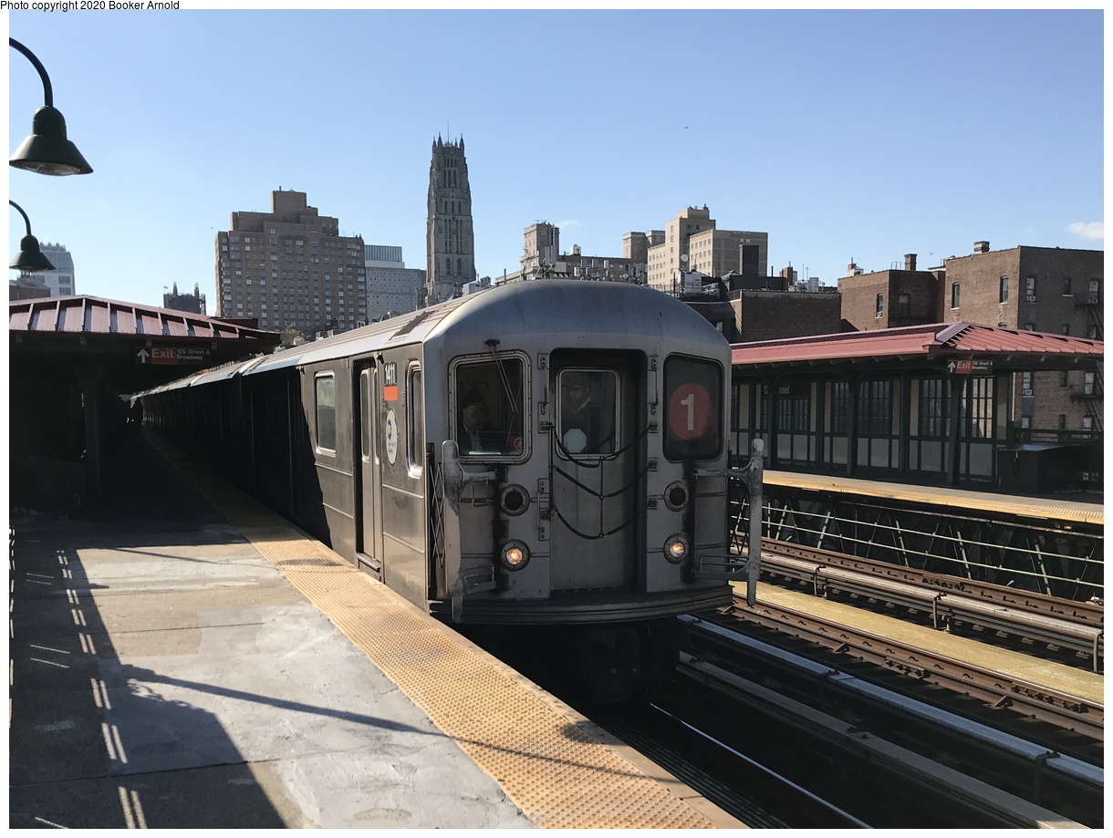 (238k, 1024x801)<br><b>Country:</b> United States<br><b>City:</b> New York<br><b>System:</b> New York City Transit<br><b>Line:</b> IRT Dyre Ave. Line<br><b>Location:</b> Morris Park <br><b>Car:</b> R-14 (American Car & Foundry, 1949) 5814 <br><b>Collection of:</b> George Conrad Collection<br><b>Date:</b> 10/20/1970<br><b>Viewed (this week/total):</b> 14 / 1789