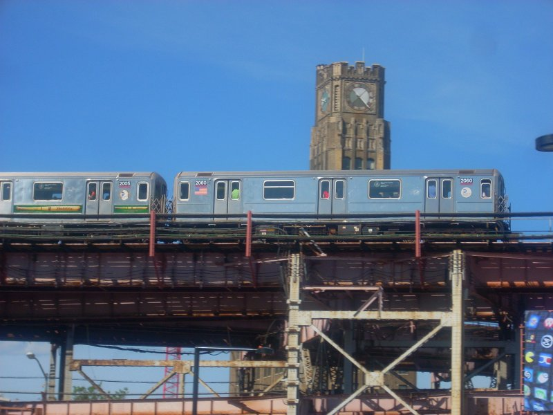 (117k, 800x600)<br><b>Country:</b> United States<br><b>City:</b> New York<br><b>System:</b> New York City Transit<br><b>Line:</b> IRT Flushing Line<br><b>Location:</b> Queensborough Plaza <br><b>Route:</b> 7<br><b>Car:</b> R-62A (Bombardier, 1984-1987)  2060 <br><b>Photo by:</b> Bill E.<br><b>Date:</b> 5/29/2010<br><b>Viewed (this week/total):</b> 0 / 447