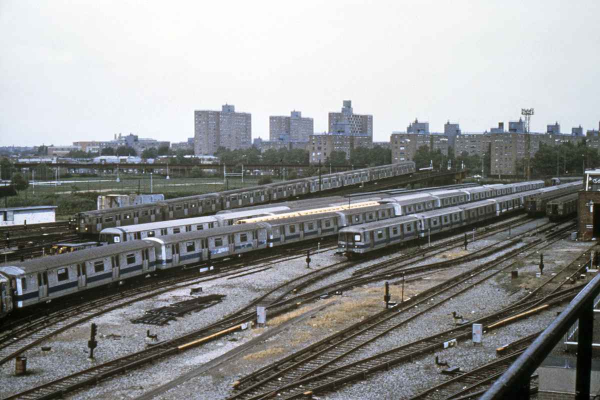 (258k, 1024x690)<br><b>Country:</b> United States<br><b>City:</b> New York<br><b>System:</b> New York City Transit<br><b>Location:</b> Coney Island Yard<br><b>Car:</b> R-46 (Pullman-Standard, 1974-75)  <br><b>Collection of:</b> Collection of nycsubway.org <br><b>Viewed (this week/total):</b> 2 / 1312