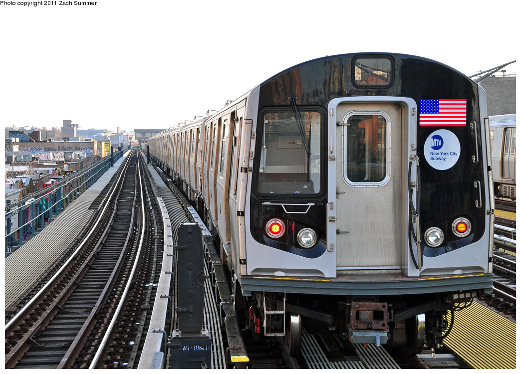 (291k, 1044x750)<br><b>Country:</b> United States<br><b>City:</b> New York<br><b>System:</b> New York City Transit<br><b>Line:</b> BMT Brighton Line<br><b>Location:</b> Ocean Parkway <br><b>Route:</b> Layup<br><b>Car:</b> R-160B (Option 1) (Kawasaki, 2008-2009)  9078 <br><b>Photo by:</b> Zach Summer<br><b>Date:</b> 1/1/2011<br><b>Viewed (this week/total):</b> 1 / 408