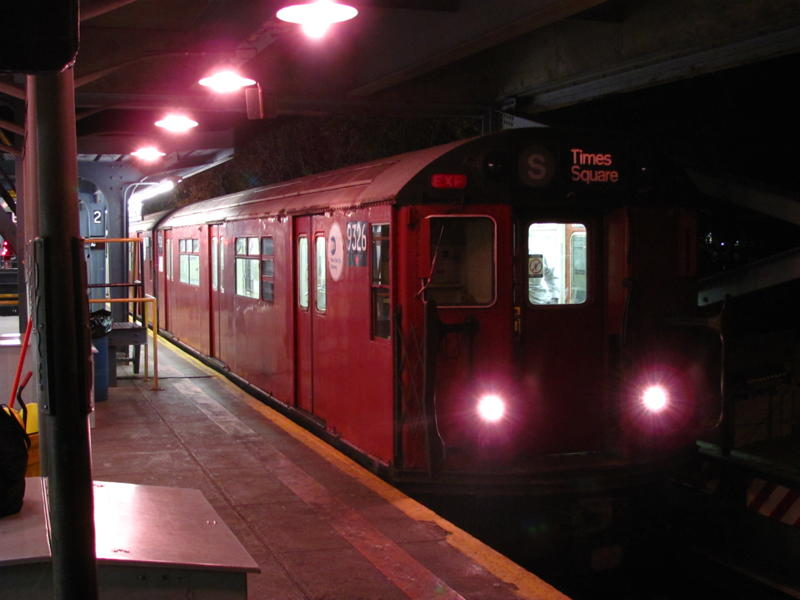 (52k, 800x600)<br><b>Country:</b> United States<br><b>City:</b> New York<br><b>System:</b> New York City Transit<br><b>Line:</b> IRT Dyre Ave. Line<br><b>Location:</b> Dyre Avenue <br><b>Route:</b> Work Service<br><b>Car:</b> R-33 World's Fair (St. Louis, 1963-64) 9326 <br><b>Photo by:</b> Steven Cruz<br><b>Date:</b> 12/2010<br><b>Viewed (this week/total):</b> 6 / 905