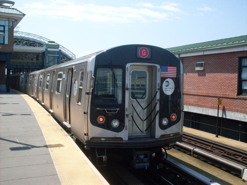 (71k, 800x600)<br><b>Country:</b> United States<br><b>City:</b> New York<br><b>System:</b> New York City Transit<br><b>Location:</b> Coney Island/Stillwell Avenue<br><b>Route:</b> G<br><b>Car:</b> R-160A (Option 1) (Alstom, 2008-2009, 5 car sets)  9248 <br><b>Photo by:</b> Anthony Modesto<br><b>Date:</b> 7/31/2010<br><b>Viewed (this week/total):</b> 2 / 554