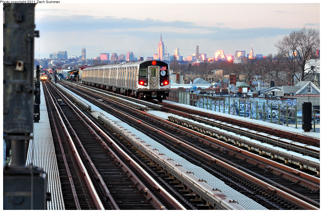 (330k, 1044x691)<br><b>Country:</b> United States<br><b>City:</b> New York<br><b>System:</b> New York City Transit<br><b>Line:</b> BMT Culver Line<br><b>Location:</b> Avenue P <br><b>Route:</b> F<br><b>Car:</b> R-160A (Option 1) (Alstom, 2008-2009, 5 car sets)  9362 <br><b>Photo by:</b> Zach Summer<br><b>Date:</b> 1/5/2011<br><b>Viewed (this week/total):</b> 0 / 581