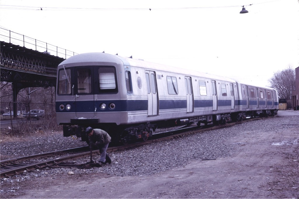 (167k, 1024x682)<br><b>Country:</b> United States<br><b>City:</b> New York<br><b>System:</b> New York City Transit<br><b>Location:</b> Coney Island Yard<br><b>Car:</b> R-44 (St. Louis, 1971-73) 138 <br><b>Photo by:</b> Doug Grotjahn<br><b>Collection of:</b> Joe Testagrose<br><b>Date:</b> 3/5/1972<br><b>Viewed (this week/total):</b> 3 / 988