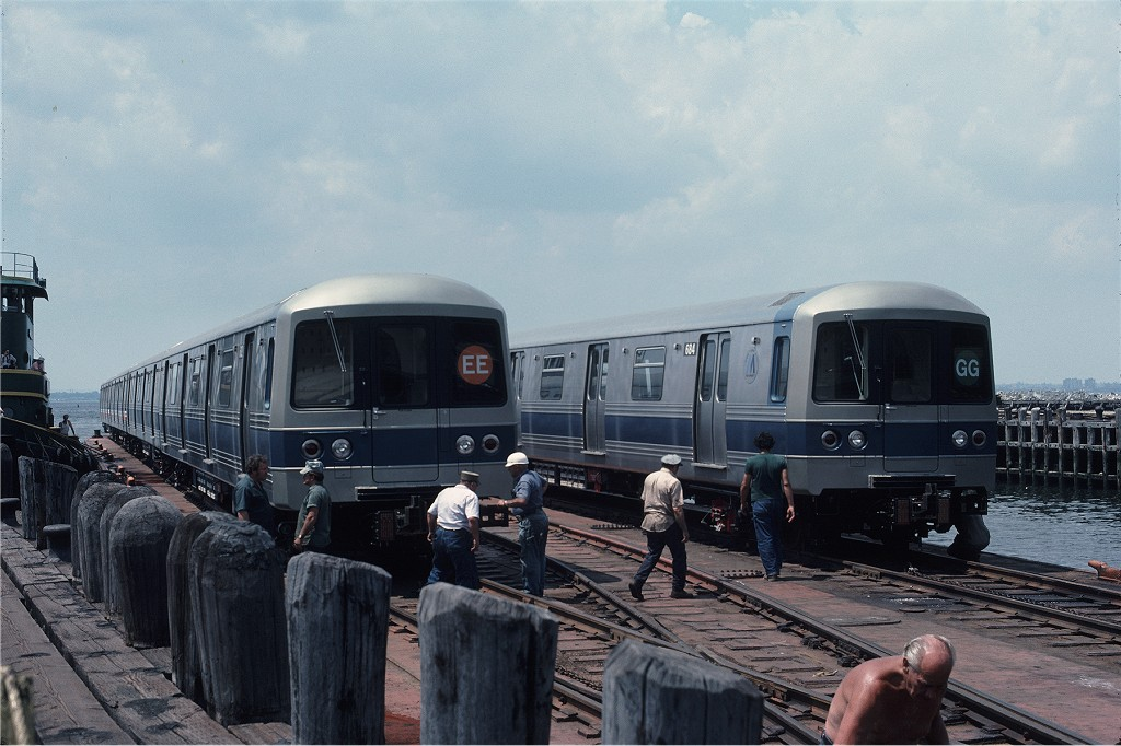 (178k, 1024x682)<br><b>Country:</b> United States<br><b>City:</b> New York<br><b>System:</b> New York City Transit<br><b>Line:</b> South Brooklyn Railway<br><b>Location:</b> Bush Terminal/New York Dock RR - 1st Ave & 51st (BTRR)<br><b>Car:</b> R-46 (Pullman-Standard, 1974-75) 682 <br><b>Photo by:</b> Gerald H. Landau<br><b>Collection of:</b> Joe Testagrose<br><b>Date:</b> 6/27/1976<br><b>Viewed (this week/total):</b> 0 / 645