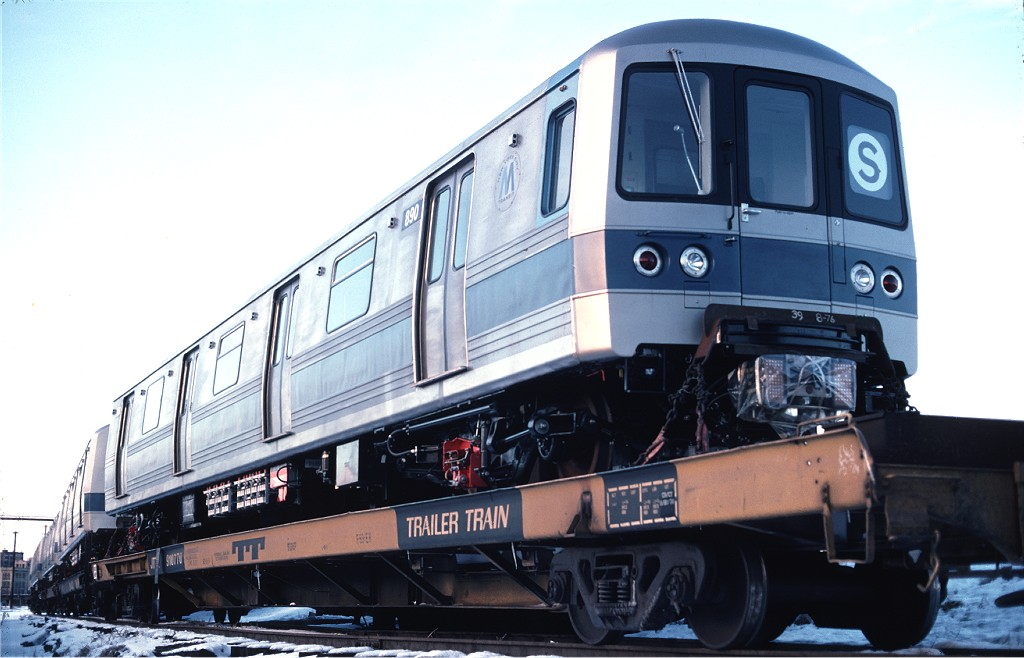 (153k, 1024x658)<br><b>Country:</b> United States<br><b>City:</b> Hoboken, NJ<br><b>System:</b> New York City Transit<br><b>Location:</b> Hoboken Yard <br><b>Car:</b> R-46 (Pullman-Standard, 1974-75) 890 <br><b>Photo by:</b> Ed McKernan<br><b>Collection of:</b> Joe Testagrose<br><b>Date:</b> 12/27/1976<br><b>Viewed (this week/total):</b> 0 / 471
