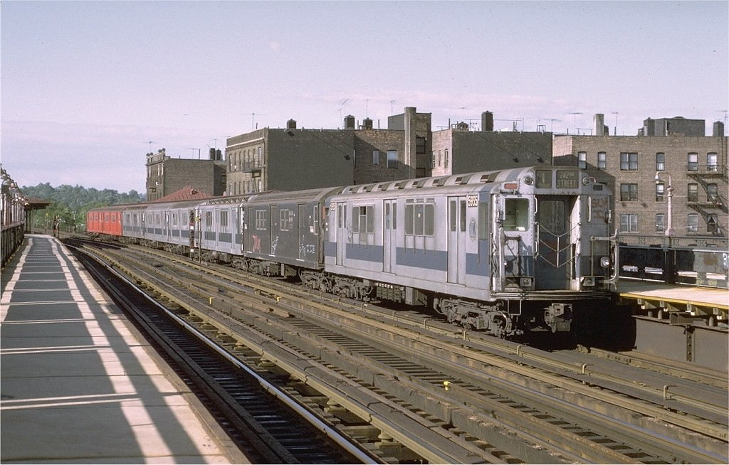 (202k, 1024x654)<br><b>Country:</b> United States<br><b>City:</b> New York<br><b>System:</b> New York City Transit<br><b>Line:</b> IRT West Side Line<br><b>Location:</b> 238th Street <br><b>Route:</b> 1<br><b>Car:</b> R-14 (American Car & Foundry, 1949) 5935 <br><b>Photo by:</b> Joe Testagrose<br><b>Date:</b> 6/10/1972<br><b>Viewed (this week/total):</b> 1 / 2023