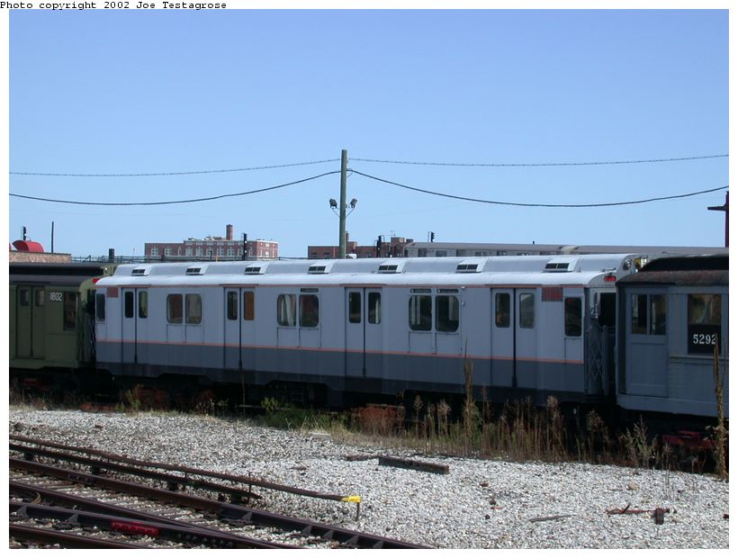 (117k, 820x620)<br><b>Country:</b> United States<br><b>City:</b> New York<br><b>System:</b> New York City Transit<br><b>Location:</b> Coney Island Yard-Museum Yard<br><b>Car:</b> R-10 (American Car & Foundry, 1948) 3184 <br><b>Photo by:</b> Joe Testagrose<br><b>Date:</b> 9/22/2002<br><b>Viewed (this week/total):</b> 2 / 2427