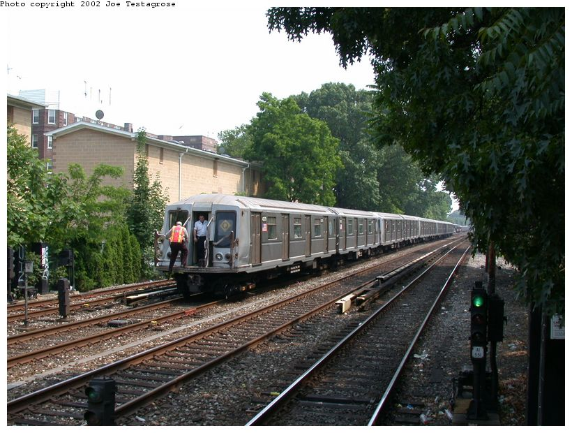 (152k, 820x620)<br><b>Country:</b> United States<br><b>City:</b> New York<br><b>System:</b> New York City Transit<br><b>Line:</b> BMT Brighton Line<br><b>Location:</b> Avenue H <br><b>Route:</b> Q<br><b>Car:</b> R-40 (St. Louis, 1968)  4379 <br><b>Photo by:</b> Joe Testagrose<br><b>Date:</b> 6/11/2002<br><b>Viewed (this week/total):</b> 1 / 3326
